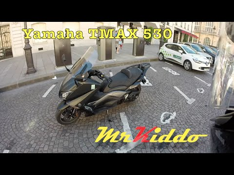 Test Riding the Yamaha TMax 530 - The Ultimate Scooter?