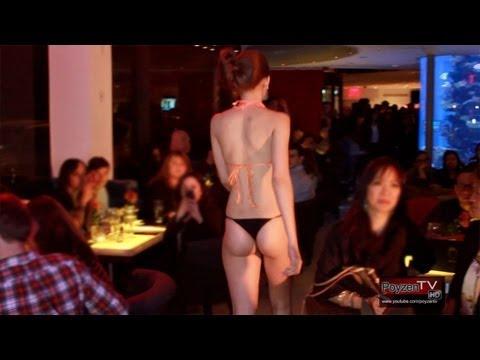 بكيني - Step inside Toshi's Living Room and Penthouse for a sexy swimwear fashion show by designer, Johanna Sarria. The show was part of New York Fashion Week - 2013...