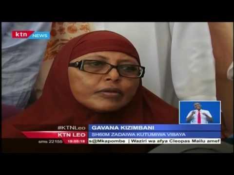 Gavana wa Kaunti ya Garissa, Nadhif Jamaa  ajibu mashtaka ya ufisadi katika mahakama kuu ya Garissa