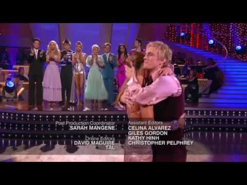 DWTS - Aaron's Elimination Dancing With The Stars US S09E17