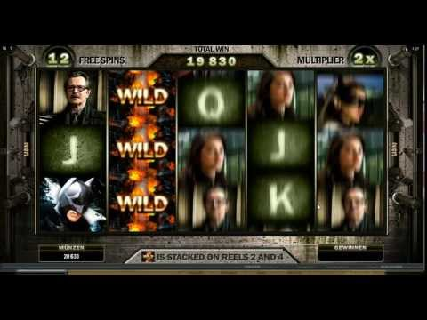 The Dark Knight Rises Slot - Super Stacked Wilds Feature - Big Win (311x Bet)