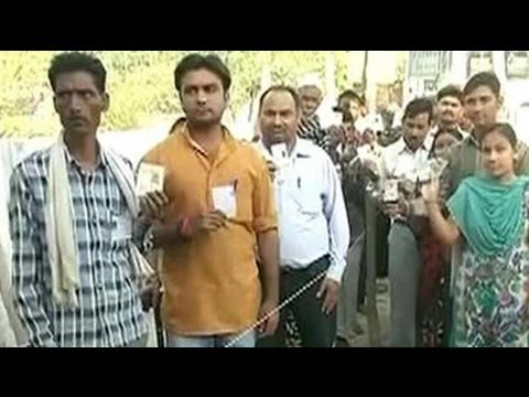 seats - Voting is underway in 121 constituencies spread across 12 states in the fifth and biggest round of India's nine-phase national elections. Watch more videos: ...