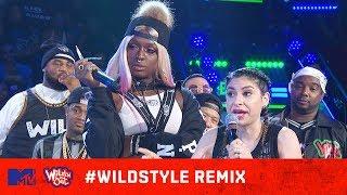 Justina Valentine & Teresa Topnotch vs. Julia Young & Kandi 🙌🔥| Wild 'N Out | #WildstyleREMIX