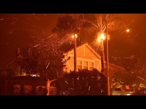 Καλιφόρνια: Μαίνεται η πύρινη λαίλαπα – Κάρβουνο πάνω από 8.000 εκτάρια…