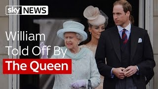 Video William Gets A Royal Telling Off From The Queen MP3, 3GP, MP4, WEBM, AVI, FLV November 2017