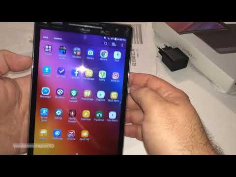 ASUS ZenPad 8.0 Z380M Android tablet unboxing