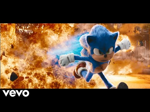 SONIC - LAY LAY Remix REMIX by Gabidulin // Sonic Chase Scene