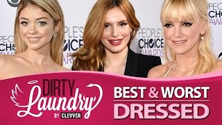 Best & Worst Dressed 2015 People's Choice Awards - Dirty Laundry