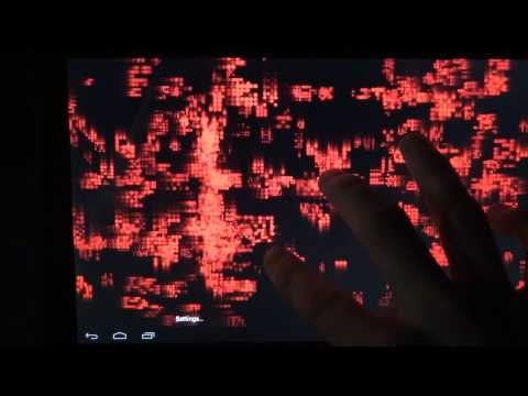 Video of Cylon Datastream LiveWallpaper