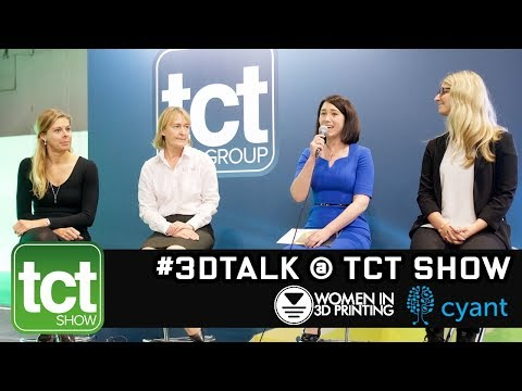 #3DTalk at TCT Show - Materials for 3D printing panel session