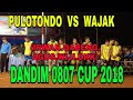 Download Lagu PULOTONDO  VS  WAJAK DANDIM 0807 CUP 2018 Mp3 Free