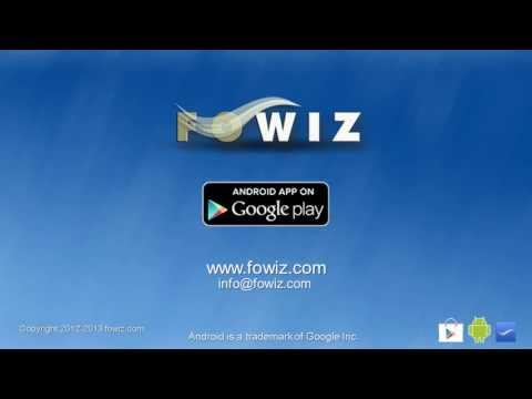 Video of FOWiz Call & SMS API