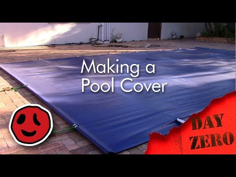 How to make your own pool cover