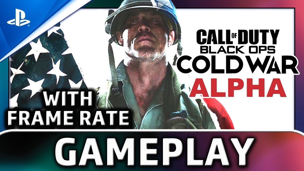 Call of Duty: Black Ops Cold War (ALPHA) | PS4 Gameplay and Frame Rate