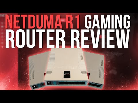 Netduma R1 Gaming Router Review (Geofilter, VPN, QoS, and More!)