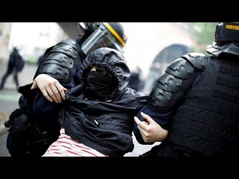 Παρίσι: Σοβαρά επεισόδια με αιχμή τις μεταρρυθμίσεις Μακρόν για το δημόσιο…