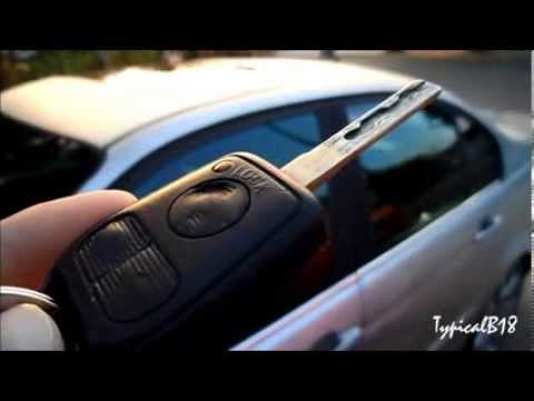 Using Keyless Entry Remote to Roll Down/Up Windows (1999 BMW 328i E46 Sedan) Quick Demo