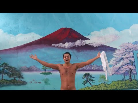 Japanese Public Bathing Exposed: The Naked Truth 日本の銭湯と熊鍋 ★ ONLY in JAPAN #25 (видео)