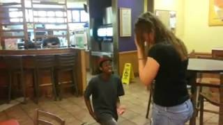 Taco Bell Wedding Proposal (Rejected)
