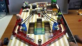 lego pinball machine with 7 flippers! 3 floors multiball Toy Story by nachapon t-lug thaibrickclub