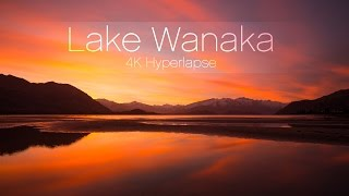 Wanaka New Zealand  city photos gallery : Lake Wanaka, New Zealand - 4K Hyperlapse - @matjoez