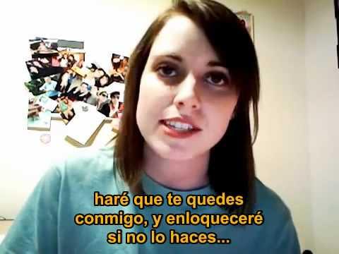 video que muestra una Canción de una Novia Obsesiva
