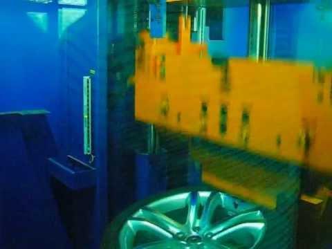 Испытание диска WSP Italy W455 Vulcano Tiguan на удар обода (Volkswagen)
