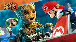 Guardians of the Galaxy Vol. 2 Reviews, Mario Kart 8, and Playstation Plushies! - Up At Noon Live! by IGN