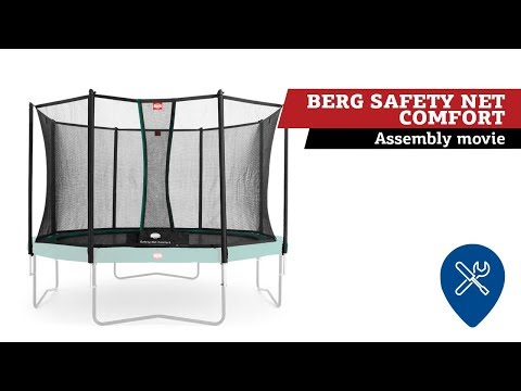 BERG Favorit 430 Tattoo + Safety Net Comfort 430 | Montage veiligheidsnet
