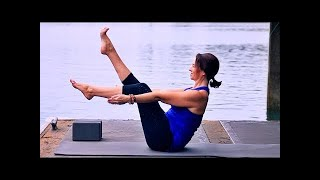 Video 30 Minute Yoga Total Body Workout With Fightmaster Yoga MP3, 3GP, MP4, WEBM, AVI, FLV Maret 2018