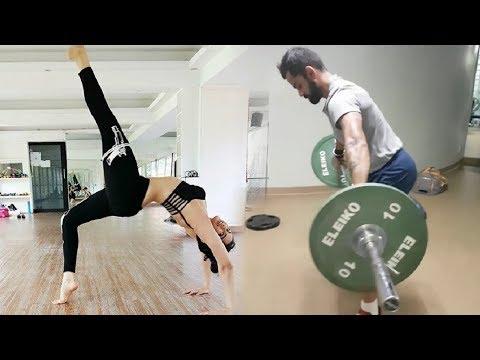 Video Anushka Sharma Workout With Virat Kohli In Gym download in MP3, 3GP, MP4, WEBM, AVI, FLV January 2017