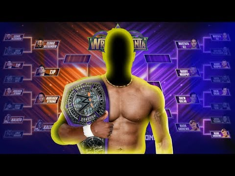 WWE Cruiserweight Tournament Winner Predictions 2018