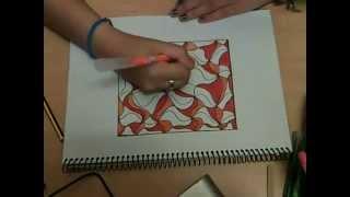 Dibujo abstracto facil y bonitooo P
