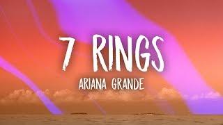 Video Ariana Grande - 7 Rings (Lyrics) MP3, 3GP, MP4, WEBM, AVI, FLV Juni 2019