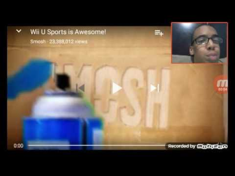 Rkjunior Reacts To Smosh Wii U Sports Is Awesome