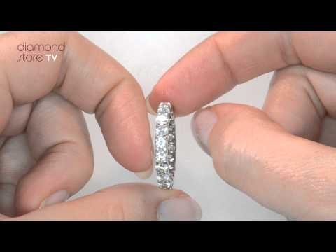 Chloe 2ct Diamond Eternity Ring In Platinum - HG34