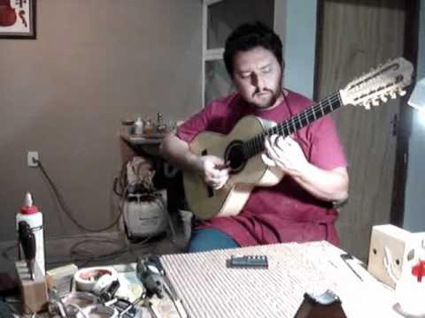 Apresentação Viola Caipira Artesanal Luthier Luciano Borges