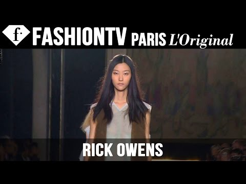fashiontv - http://www.FashionTV.com/videos PARIS - See highlights from the Rick Owens Spring/Summer 2015 runway show during Paris Fashion Week and hear from the designer, top stylists and models, and...