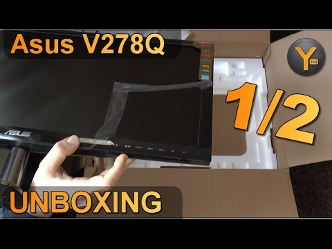 Unboxing/First Look: Asus VS278Q / 27
