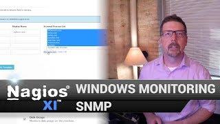 SNMP Monitoring - Windows Monitoring with Nagios XI