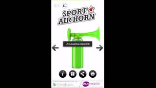 Sport Air Horn YouTube video
