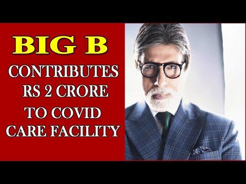 Big B donates Rs 2 crore to Delhi gurdwara Covid care center