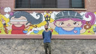 Justice and Liberty - Kawaii Graffiti by Garbi KW