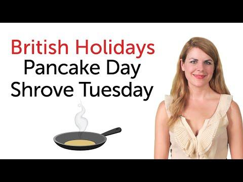 British Holidays - Pancake Day and Shrove Tuesday