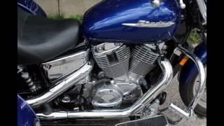 8. My Slideshow 2004 Honda Shadow Spirit VT100 w/ Trike Kit and Aluminum Trailer