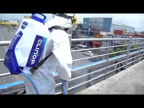 Protocolos de desinfección de espacios públicos