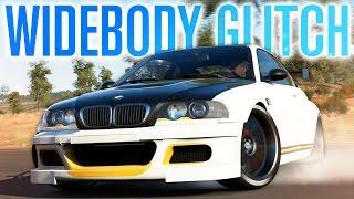 WIDEBODY GLITCH BMW M3 E46   Forza Horizon 3 Gameplay