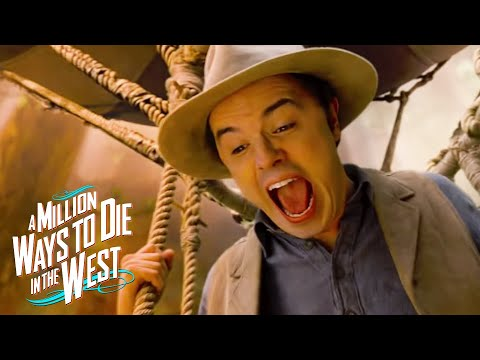 A Million Ways To Die In The West by Seth MacFarlane   Official Trailer | Video