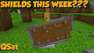 SHIELDS ARE FINALLY COMING To Bedrock + Where Are Bark Blocks?