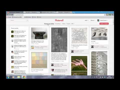 Video Tutorial de Pinterest en español